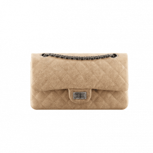 Chanel Beige Reissue 225 Flap Bag - Spring 2014 Act 1