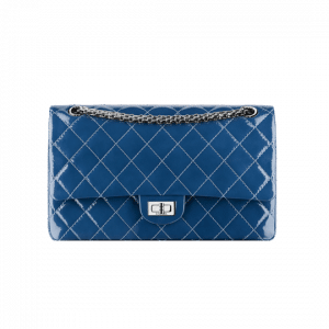 Chanel Blue Patent 2.55 Reissue Flap Bag - Spring 2014 Act 1