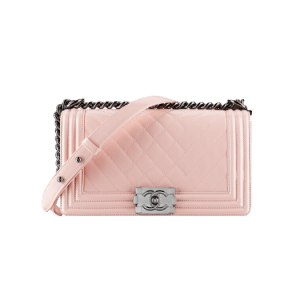 Chanel Pink Boy Chevron Flap Bag - Spring 2014 Act 1