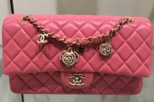 Chanel Pink Valentine Flap Medium Bag