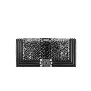 Chanel Python Boy Exotic Clutch Bag - Spring 2014 Act 1