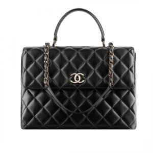 Chanel Quilted Black Trendy CC Large Bag - Spring 2014 Act 1