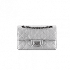 Chanel Silver Reissue 224 Mini Flap Bag - Spring 2014 Act 1