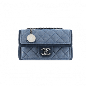 Chanel Small Denim Graphic Flap Bag - Spring 2014 Act 1