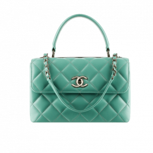 Chanel Light Green Trendy CC Small Bag - Spring 2014 Act 1