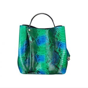 Dior Diorific Hand Painted Green Python Bag - Spring 2014