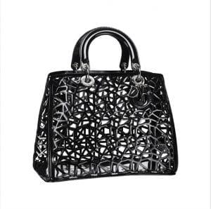 Diorissimo Cage Black Tote Bag - Spring 2014