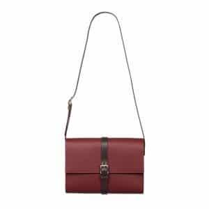 Hermes Burgundy Shoulder Bag - Spring 2014