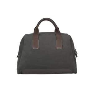 Hermes Dark Grey Canvas Tote Bag - Spring 2014