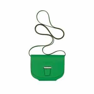 Hermes Green Mini Convoyeur Wallet Bag - Spring 2014