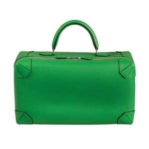 Hermes Green Maxibox Bag - Spring 2014