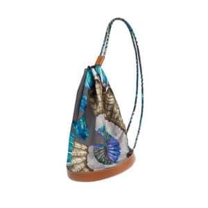 Hermes Multicolor Printed Soie-Cool Bag - Spring 2014