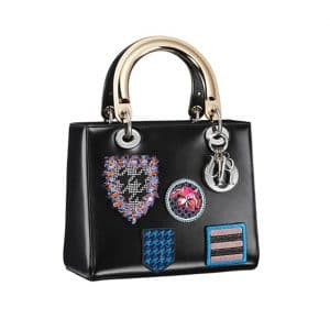 Lady Dior Small Tote with Stamps Bag - Spring 2014