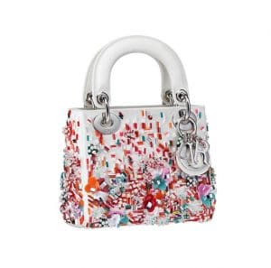 Lady Dior with Sequins and Beads Bag - Spring 2014