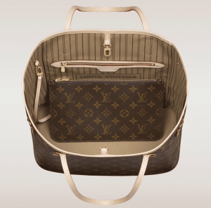 Louis Vuitton Beige Neo Neverfull