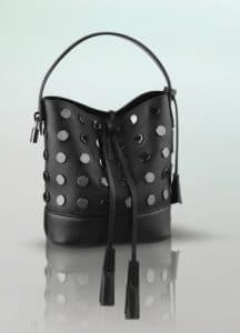 Louis Vuitton Black NN14 Audace Noe Bag - Spring Summer 2014
