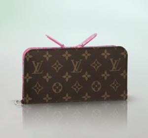 Louis Vuitton Corail Sweet Monogram Insolite Wallet