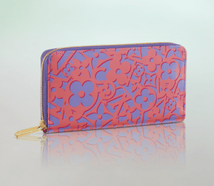 Louis Vuitton Corail Sweet Monogram Zippy Wallet