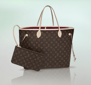 Louis Vuitton Fuchsia Monogram Canvas Neo Neverfull GM Bag