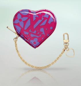 Louis Vuitton Indian Rose Sweet Monogram Cœur Coin Purse