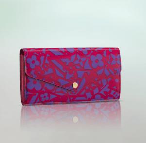 Louis Vuitton Indian Rose Sweet Monogram Sarah Wallet