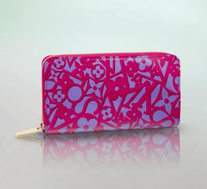 Louis Vuitton Indian Rose Sweet Monogram Zippy Wallet