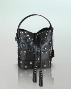 Louis Vuitton NN14 Alligator with Studs Noe Bag - Spring Summer 2014