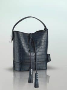 Louis Vuitton NN14 Blue Alligator Noe Bag - Spring Summer 2014