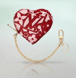 Louis Vuitton Pomme D'Amour Sweet Monogram Cœur Coin Purse