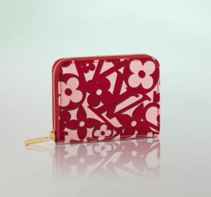 Louis Vuitton Pomme D'Amour Sweet Monogram Zippy Coin Purse