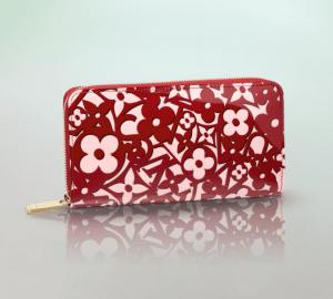 Louis Vuitton Pomme D'Amour Sweet Monogram Zippy Wallet