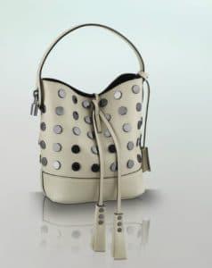 Louis Vuitton White NN14 Audace Noe Bag - Spring Summer 2014