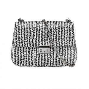 Miss Dior Black Spotted Flap Bag - Spring 2014