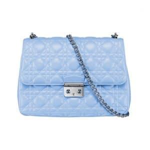 Miss Dior Light Blue Flap Bag - Spring 2014