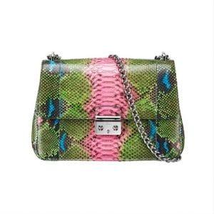 Miss Dior Multicolor Python Flap Bag - Spring 2014