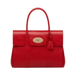Mulberry Bayswater Red Tote Bag - Chinese New year