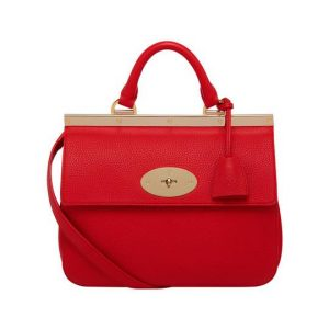 Mulberry Red Suffolk Bag - Chinese New Year 2014
