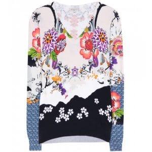 Etro Floral Sweatshirt