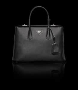 Prada Black Twin Bag