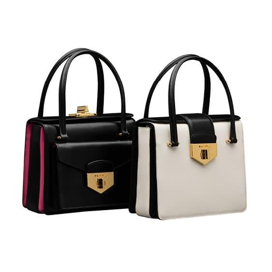 prada brown leather bag - Prada-BlackWhite-Bags-Spring-2014.jpg