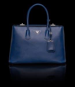 Prada Cornflower Blue Twin Bag