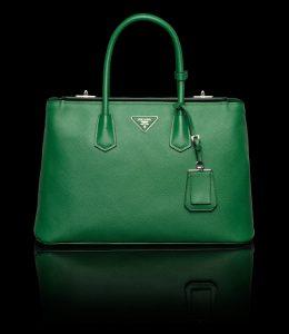 Prada Green Twin Bag