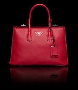 Prada Red Twin Bag