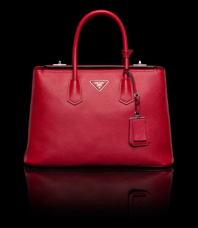 purses prada sale - prada red, prada knapsack