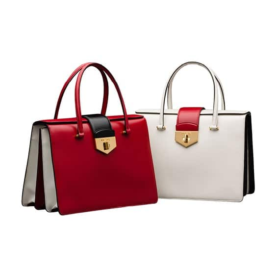 red prada purses