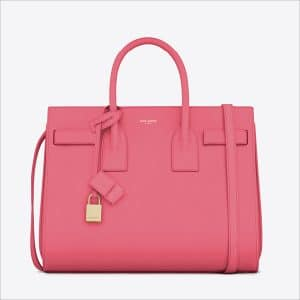 Saint Laurent Pink Classic Small Sac De Jour Bag - Spring 2014