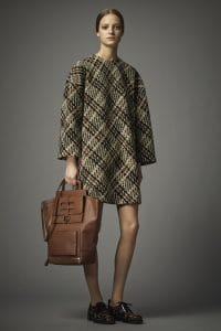 Valentino Brown Tote Bag 2 - Pre-Fall 2014