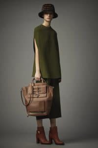 Valentino Brown Tote Bag - Pre-Fall 2014