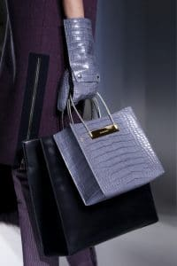 Balenciaga Croc Top Handle Shopping Bag - Fall 2014