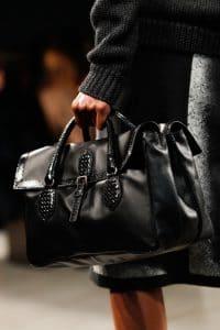 Bottega Veneta Black Leather:Python Bag - Fall 2014